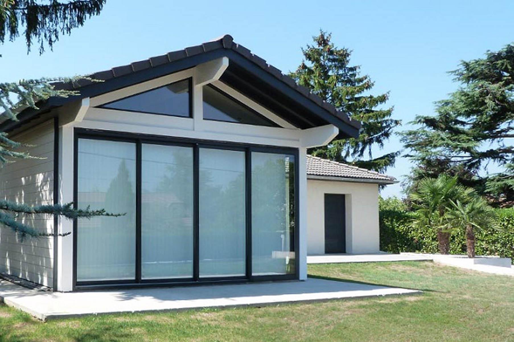 construire un pool house interesting construire un garage de m chalet amp cie gt pool house en. Black Bedroom Furniture Sets. Home Design Ideas
