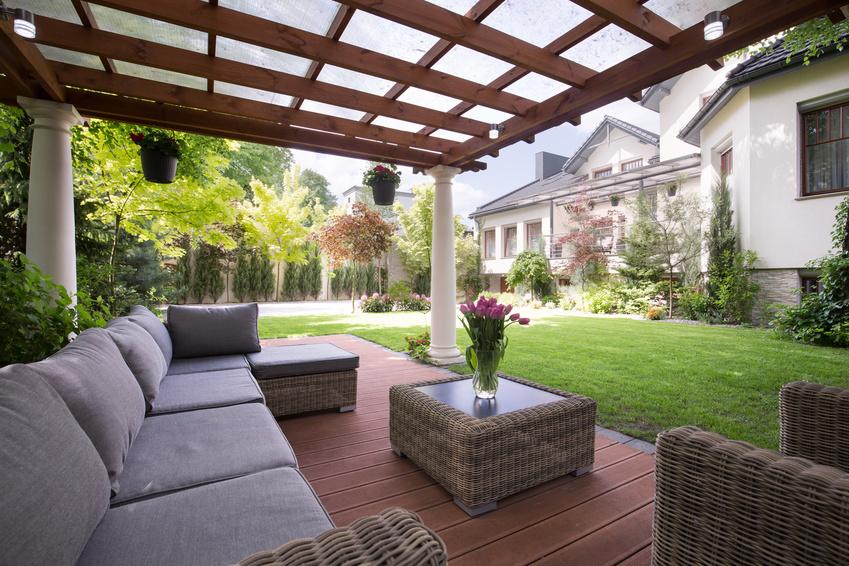 Pergola Construction Terrasses En Bois A Geneve